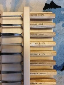 Pfeil Wood Carving Chisels mid set of 12