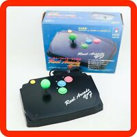 [N-MINT Boxed] Sega Saturn HORI Real Arcade VF Stick Controller HSS-09