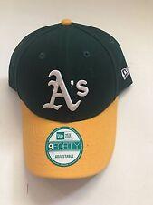 New Era MLB  9Forty Adjustable Hat - Oakland Athletics - Green League