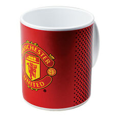 Manchester united fc neuf fade design en céramique thé café tasse cadeau de noël