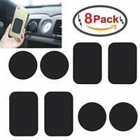 8* Metallplättchen für Magnet Handy Halterung Auto Metallplatte Selbstklebend