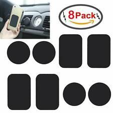 8 Pcs Metal Plates Sticker Magnet for Magnetic Car Mount Mobile Phone Holder UK