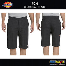 Dickies Mens Regular-Fit 13-Inch Multi-Use Pocket Plaid Casual Short WR978 32-48