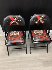 TWO (2) WWE EXTREME RULES 2016 Ringside Chairs - Prudential Center - NEW