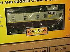 MTH  RK - Club car 2002. Offset Steel Caboose. New in box, never out.  C-10 sb