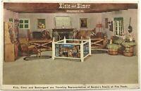 Elsie Elmer & Beauregard Traveling Borden Family Fine Foods Dairy Cows Postcard