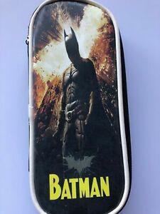 Boys Children Back to School Batman Hero Organiser Pencil Case Purse bag gift