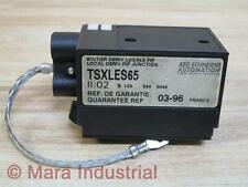 AEG Schneider Automation TSXLES65 Connector - Used
