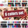 Ukiyo Gel Polish UV LED Gel Nail Color Need No Wipe Top Base Coat UK STOCK