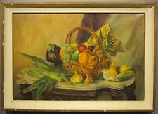 Mildred Wright c.1930's still life painting Long Branch NJ woman artist