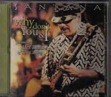 Santana-Why Dont You &I Promo cd single