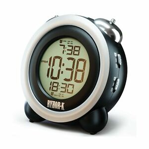 Loud Alarm Clock for Heavy Sleepers - Simple Digital Clock Battery Operated f...