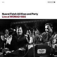 NUSRAT FATEH ALI KHAN - LIVE AT WOMAD 1985   CD NEU