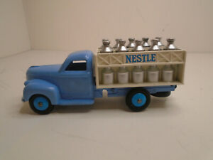 DINKY TOYS FRANCE #25o-F STUDEBAKER MILK TRUCK RESTORED EXCELLENT CONDITION