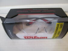 Wilson Lynx Protective Eyewear with Band, Fog Resist Tennis Racquetball Sport