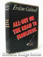 ERSKINE CALDWELL signed All-Out on the Road to Smolensk 1942 1st DW Russia WW2