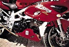 Suzuki TL1000S All Years R&G Racing black classic round crash protectors bungs