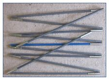 OUTWELL NEVADA 4 TENT - BLUE-CODED POLE RUN ONLY COMPLETE - 11 SECTIONS, Ø 11mm