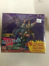 Bill and Teds Excellent Adventure Movie cards full box 1990s