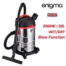 New 2000W 30L Wet & Dry Vacuum Cleaner and Blower Industrial Bagless Free Postag