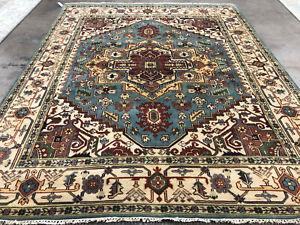Afghan Hand Knotted Rug Stunning Handmade Vintage  Gorgeous Baluchi Rug Caucasian Rug SIZE : 1.8 x 1.10 Feet #F0 Woolen Rug
