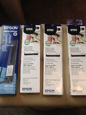NEW Epson LX300 black printer ribbon (compatible with many others!) #8750 £10!!!