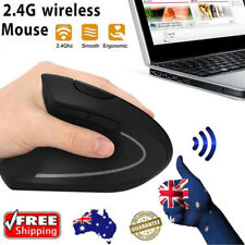 6D 2.4G Wireless Ergonomic Vertical Mouse Left hand Optical 1600DPI Smooth Mice