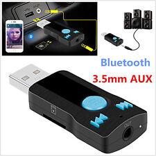 Inalámbrico Bluetooth 3.0 USB receptor coche MP3 estéreo adaptador altavoz audio