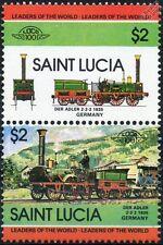 1835 Der Adler (Eagle) (Bayerische Ludwigsbahn Germany) Train Stamps / LOCO 100