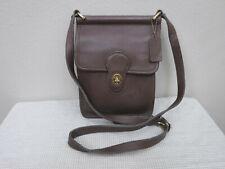 Vtg COACH Murphy Brown Leather Crossbody Turnlock Messenger Bag Satchel Handbag