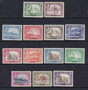 Aden - SG 16/27 - l/m - 1938/48 - 1/2a - 10r