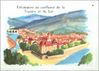 IMAGE CARD Entraygues-sur-Truyère Lot Aveyron France 60s