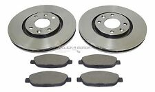 PEUGEOT 308 CC 1.6 HDi 2007-2015 FRONT 2 BRAKE DISCS AND PADS SET NEW