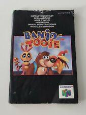 Notice Banjo-Tooie - nintendo 64