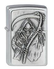 Zippo Lighter ⁕ Game Over Reaper Death Emblem ⁕ 2000860 Neu New OVP ⁕ A591