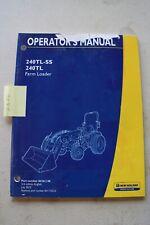 New Holland 240tl Ss 240tl Loader Operators Manual 2010