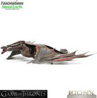 Metal Earth ICONX Game of Thrones DROGON Dragon 3D Steel DIY Model Building Kit