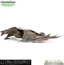 Metal Earth ICONX Game of Thrones DROGON Dragon 3D Steel DIY Model Building Kit