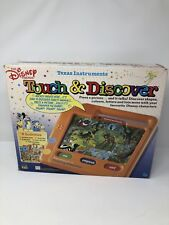 Texas Instruments Touch & Discover The Disney Friends 1988 *RARE/VINTAGE*