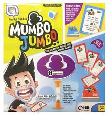 Mumbo Jumbo Mouthpiece Challenge Party Talk Game 600+ Phrases & Bonus Cards New