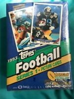 1993 TOPPS FOOTBALL SERIES 1 FACTORY SEALED BOX - HALL OF FAMER JEROME BETTIS RC