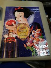 Disney Snow White and the Seven Dwarfs Mega 300 Pc Poster Puzzle Complete
