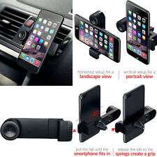 For iPhone 11, X, SE Car AirVent Adjustable 360 Portable Cradle Mount Holder