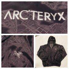 Arcteryx Women's Purple Full Zip Windbreaker Jacket Nylon Sz Small