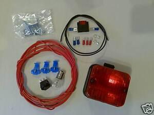 Rear Foglight kit for SVA mot test, Jap fresh Import.