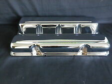 VALVE COVERS CHROME STEEL SET OF 2 AMC - JEEP V8 290 - 304 - 360 - 390 - 401