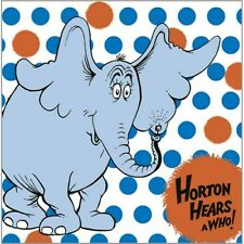 ~HORTON HEARS A WHO Dr SEUSS ~ 16- PAPER LUNCH NAPKINS  HALLMARK PARTY SUPPLIES