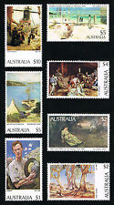 Australian Paintings MINT SET! Sc#573 > 579 - MINT NH - PO FRESH! FV $29