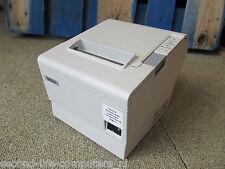 Epson TM-T88IV M129H Thermal Ticket Receipt POS Printer RS232 Serial WHITE + PSU