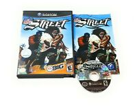 NFL Street (Nintendo GameCube, 2004) Complete CIB Black Label FREE SHIPPING!!!